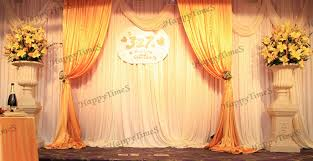 wedding backdrop gold gold and white wedding drapes promotion shop for promotional gold