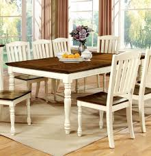 Attractive Cottage Style Kitchen Table And Chairs With Rustic - Kitchen table for two