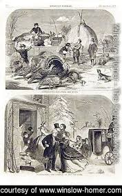 winslow homer the complete works thanksgiving day i winslow