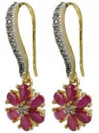 ear rings pic american diamond earrings cilory
