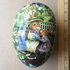 large paper mache egg german paper mache easter eggs german easter traditions