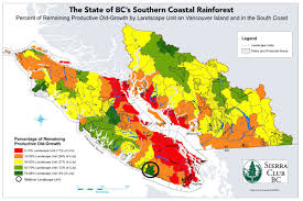 Map Of The World Bc by A Chance To Protect The Walbran U2013 Sierra Club Bc