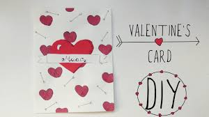 Homemade Valentine Gifts For Him by Valentine U0027s Day Crafts Love Card Handmade Gift For Boyfriend