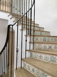 Front Staircase Design Best 25 Tile Stairs Ideas On Pinterest Stair Landing Spanish