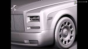 roll royce fenice rolls royce phantom long 2013 3d model from creativecrash com