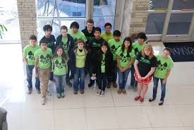 mayde creek high school yearbook robotics team goes the