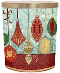 contemporary ornaments popcorn gift tin 6 5 gallon my popcorn
