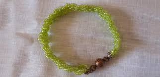 bead braid bracelet images Easy beaded jewelry how to braid 3 strand bracelets with seed jpg