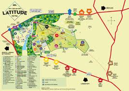 Site Map Latitude Festival Site Map 2016