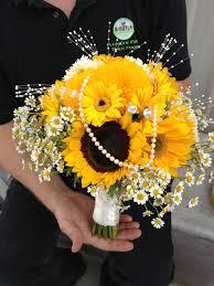 flowers by sam sunflower bouquet a wedding bouquet for