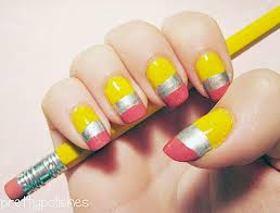 back to nail art to send you to the head of the class