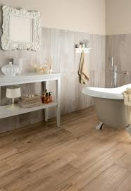 Bathroom Flooring Ideas by Bathroom Wooden Look Tile Floor For Tile Bathroom Floor Ideas
