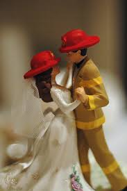 Firefighter Wedding Rings by Firefighter Wedding Cake Topper 2 Wedding11 01 14 U0026 Engagement