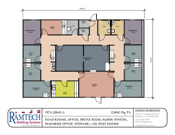 Floor Plan Layout by Modular Medical Building Floor Plans Healthcare Clinics U0026 Offices