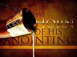 anointing horn horn for anointing scriptures verses