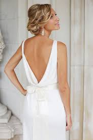 simple open back wedding dresses fresh and bridal looks for a wedding