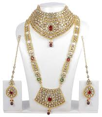 wedding jewelry ethnic traditional necklace ethnic indian bridal