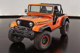 customized jeep cherokee jeep cj66 sema project modern mopar