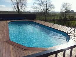 pictures of above ground pools with decks premier aluminum above