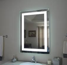 backlit bathroom cabinet lighted bathroom vanity mirror medicine