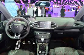peugeot 308 interior peugeot 308 gt interior at the 2014 paris motor show indian