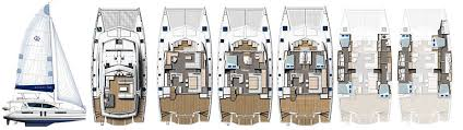 Catamaran Floor Plans Robertson And Caine Leopard 58