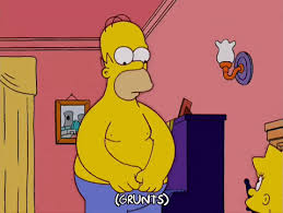 homer simpson stripping homer simpson gif find share on giphy