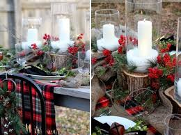 Christmas Table Decorating Rustic by Rustic Country Christmas Table Decorations U2013 Home Design And
