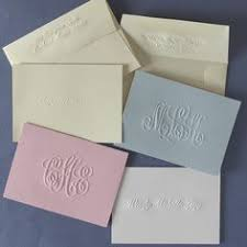 embossed stationery personalized embossed stationery cards with embossed border