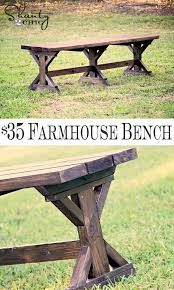 How To Build A Bench Seat For Kitchen Table Best 25 Table Bench Ideas On Pinterest Farm Table With Bench