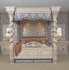 renaissance bedroom furniture bedroom furniture the renaissance canopy bed cal king world s