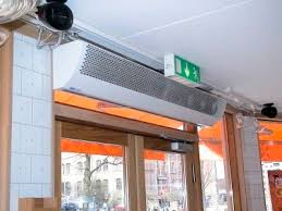chauffage pour chambre b rideau d air chaud horizontal pour chambre froide avec