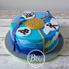 triathlon themed cake by bubakes co uk joes cake pinterest