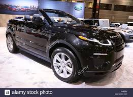 land rover usa chicago illinois usa 9th feb 2017 a range rover evoque is on