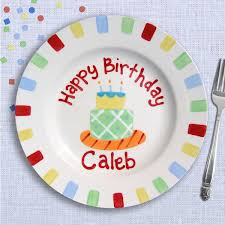 personalized cake plate kids birthday party custom birthday plate cake plate