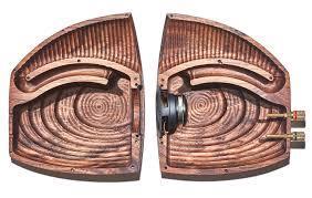 grovemade u0027s wooden speaker set looks like beautiful cybernetic