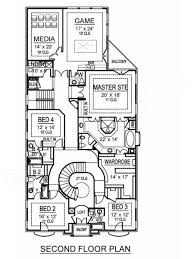 2nd Floor House Plan by Potomac European Floor Plans Luxury Floor Plans