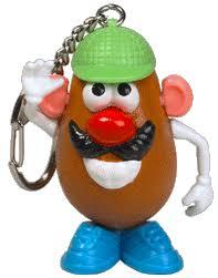 mr potato head keychain soft version