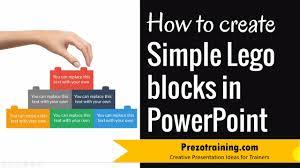 powerpoint graphic design ideas lego blocks series part 1 of 3