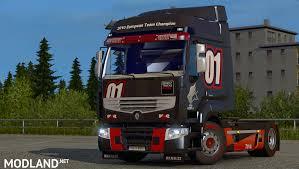 renault truck interior renault premium v 1 2 mod for ets 2