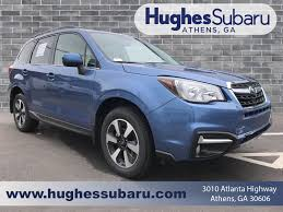 subaru forester 2017 quartz blue new 2018 subaru forester for sale athens ga stock k122315 vin