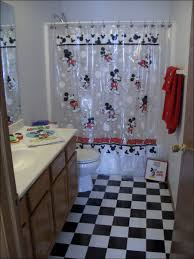 Minnie Mouse Bedding And Curtains by Bathroom Awesome Mickey Mouse Fabric Shower Curtain Mickey Mouse