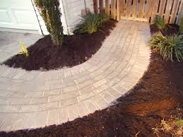 garden simple brick walkway for garden design with wooden fence how to design your home with exquisite brick walkway simple brick walkway for garden design