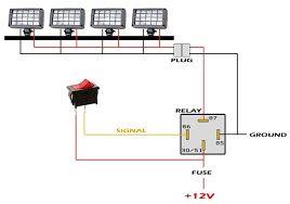 Installing Light Bar Wiring Diagram For Installing A Led Light Bar Readingrat Net Fancy