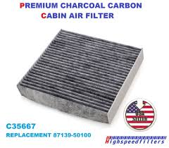 lexus es300h thailand c35667 premium ac charcoal cabin air filter for lexus replacement