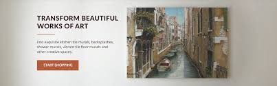 artwork on tile fine art tile murals and accents