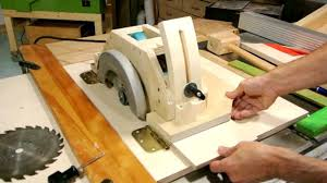 use circular saw as table saw homemade table saw part 1 youtube