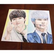38 best kpop drawing images on pinterest kpop drawing drawings