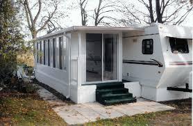 Trailer Sunrooms Recreational Vehicles Aztec Enclosures Sunrooms