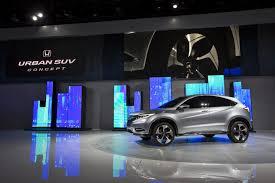 Honda Urban The Future Rival Of Nissan Juke The Honda Urban Suv Concept